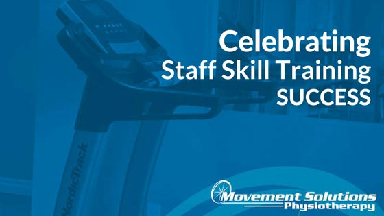 Celebrating Staff Skill Training