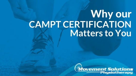 Why CAMPT Certification Matters to You