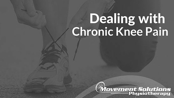 Dealing with chronic knee pain
